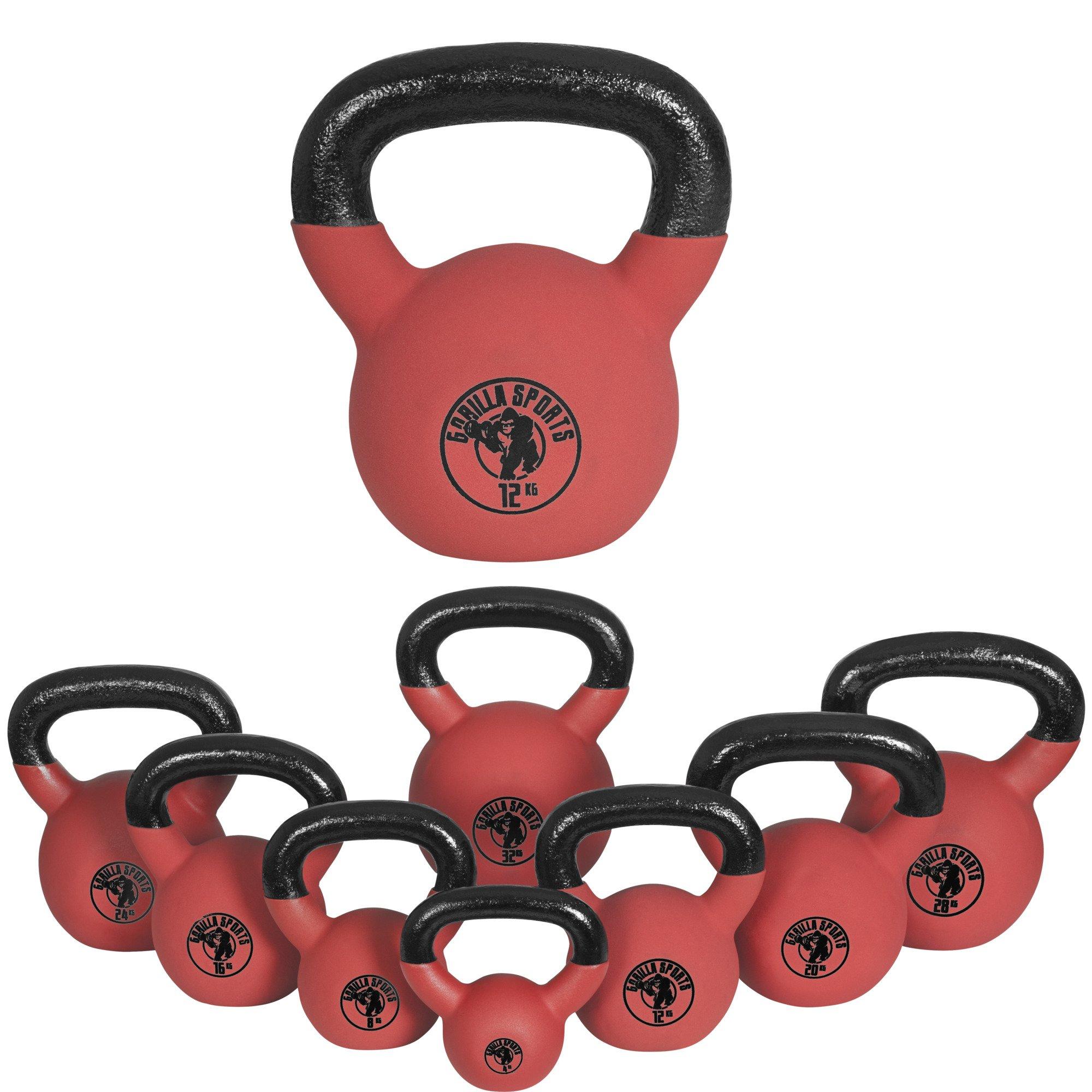 Gorilla Sports no - Pesa rusas, Forro de neopreno, 20 kg product image