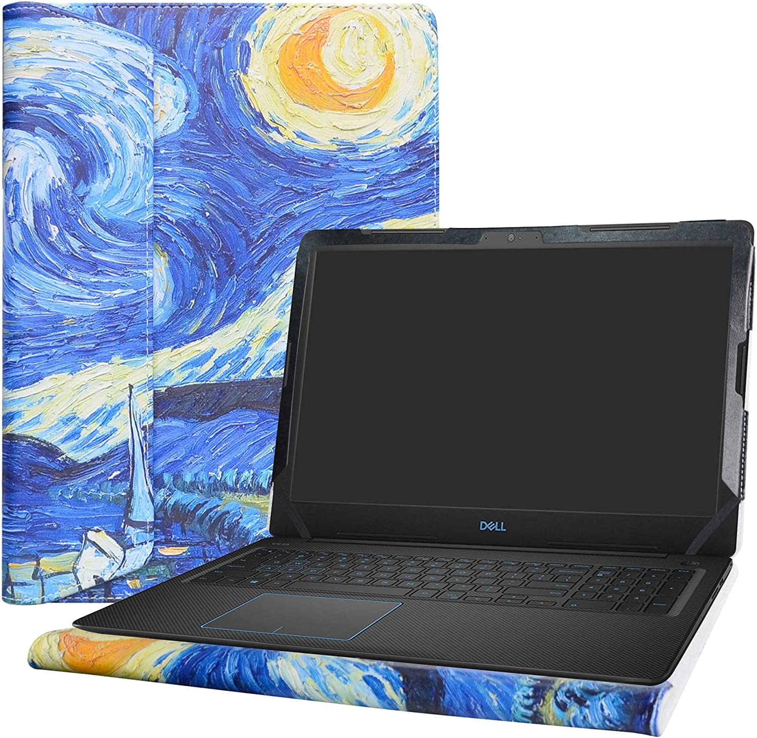 "Alapmk Protective Case Cover for 15.6"" ACER CHROMEBOOK 315 CB315-2H & Dell G3 3579/Dell Vostro 15 3590 3591 3584 Laptop(Note:Not fit Dell G3 3590/ACER CHROMEBOOK 315 CB315-1H CB315-3H),Starry Night"