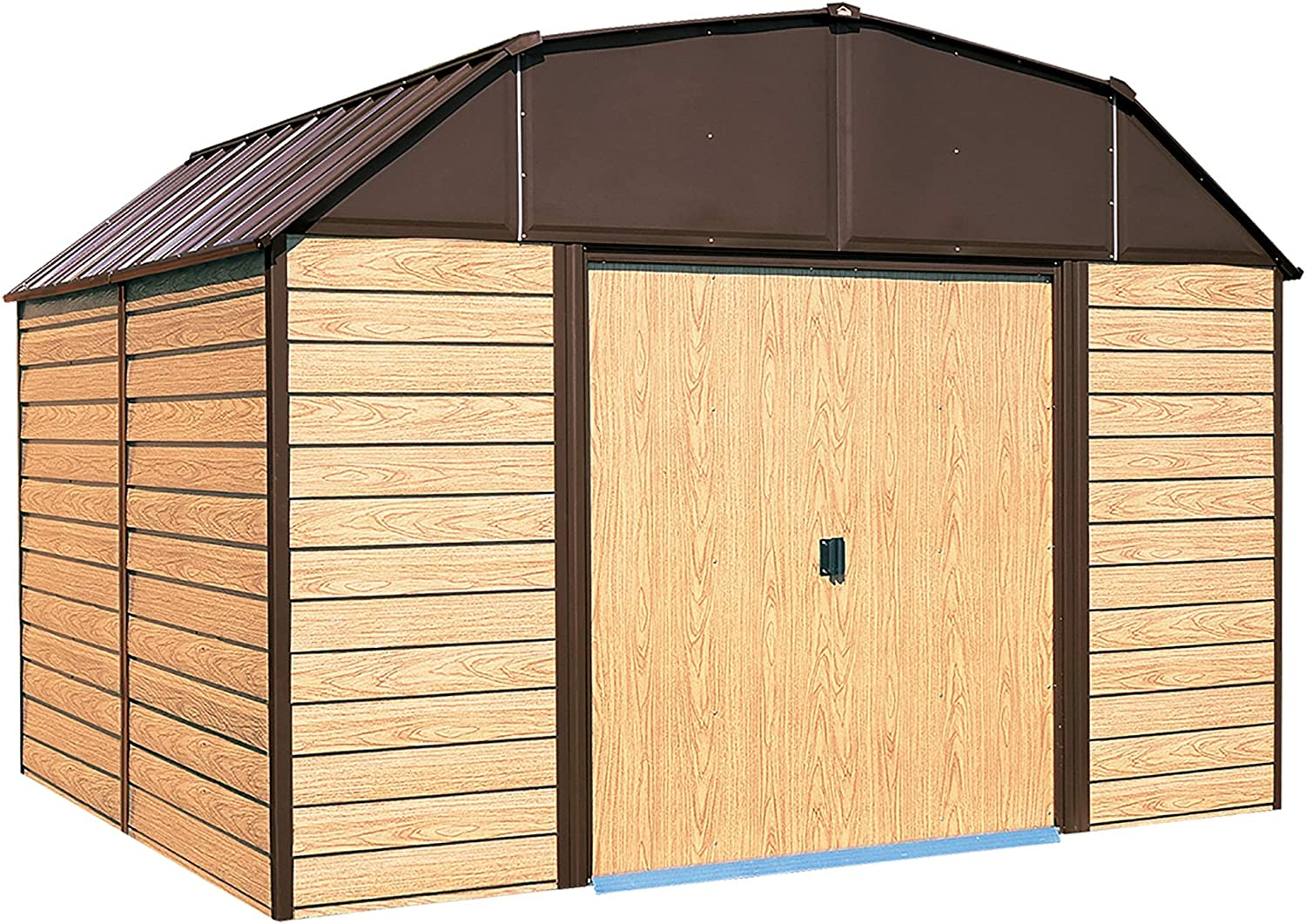 B003XZ21VK Arrow Woodhaven WH Storage Shed, 10 by 9-Feet 81d8byZR8oL