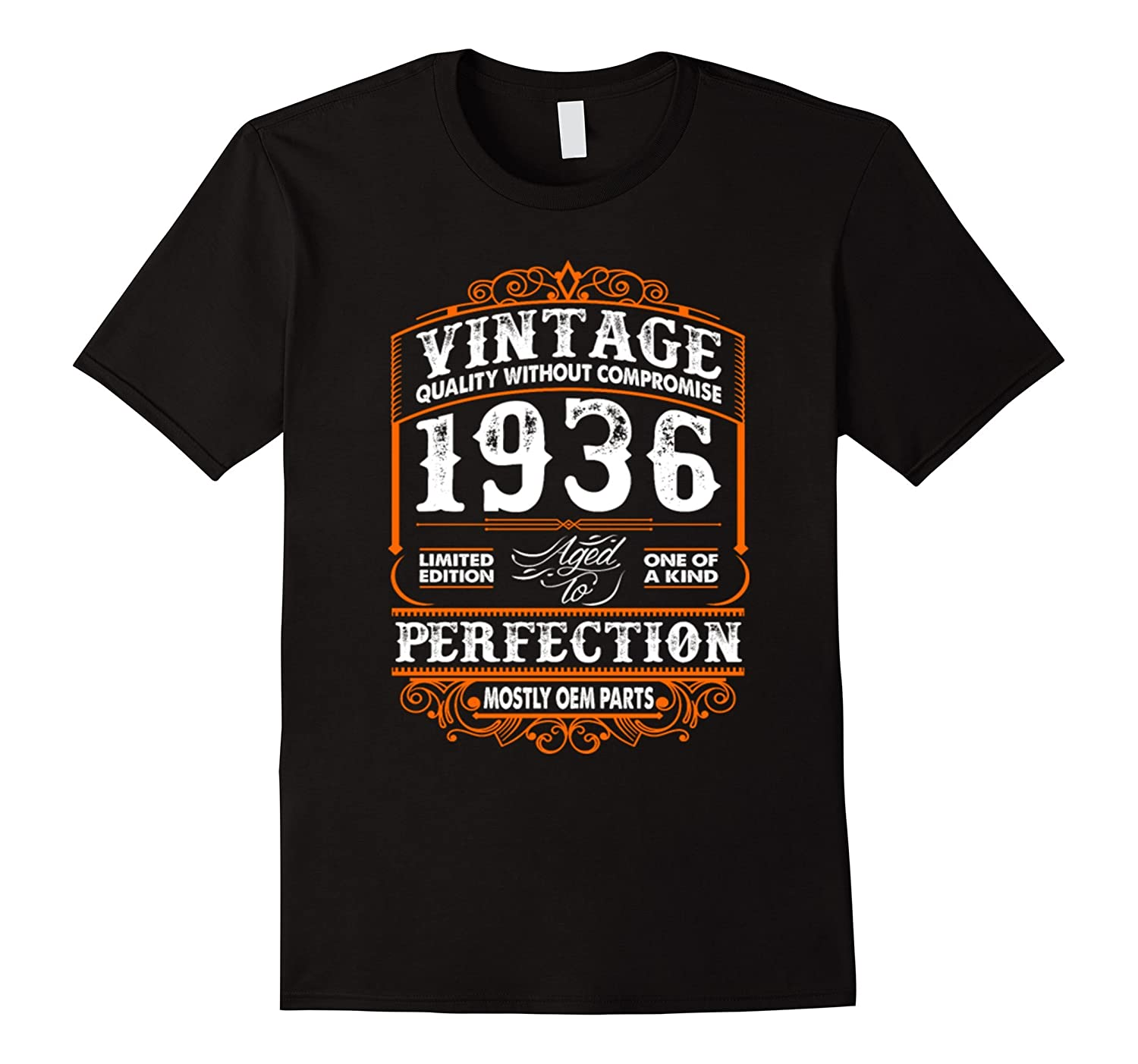 Made In 1936 81th Birthday 81 Years Old Gift T-Shirt-CD