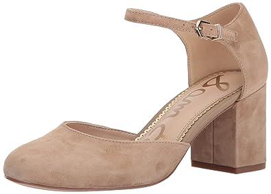 11e91bba9 Sam Edelman Women s Clover Oatmeal Kid Suede Leather 6 ...