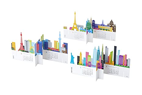 good morning 2020 Desktop Calendar (City)