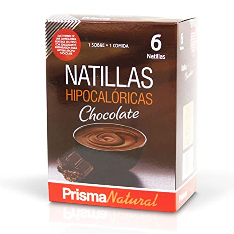 Prisma Natural Natillas Chocolate - 6 Unidades