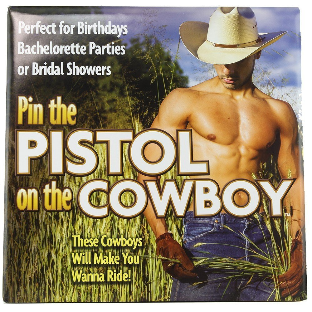 20ddafaf8d4 Amazon.com  Little Genie Pin The Pistol On The Cowboy  Health   Personal  Care
