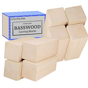 Startling Edge Basswood Blocks