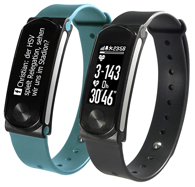 SportPlus Fitness Tracker, Smartwatch, Aktivitätstracker, optischer ...