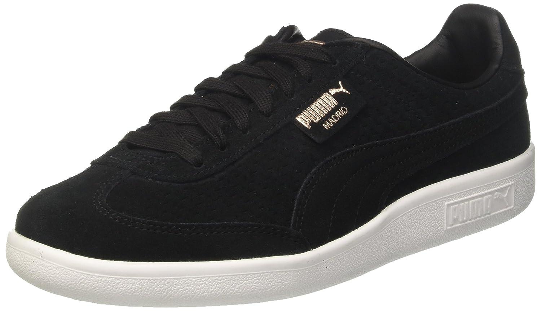 new styles e3fc0 63c40 Puma Damen Madrid Perf Suede WNs Sneaker 37 EUSchwarz (Puma Black-puma
