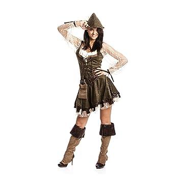 Kostumplanet Robin Hood Kostum Damen Sexy Komplettes