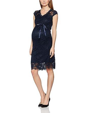 MAMALICIOUS Damen Kleid Mlnewmivana Cap Jersey Dress: Amazon.de ...