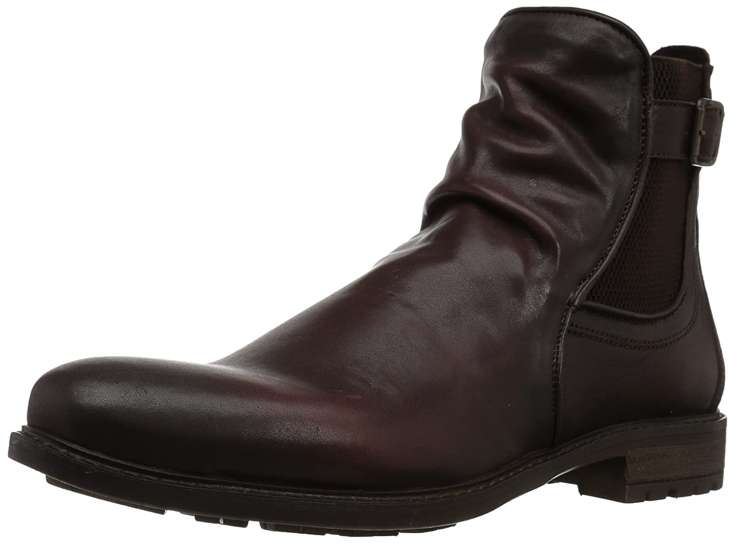 Steve Madden Men's Loren Chelsea Boot Dark Brown 10 US Size Conversion M US LORE01M1