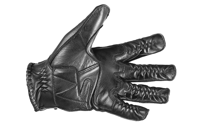 """Sommer-Handschuhe L Motorradhandschuhe /""""Hever/"""" f/ür Herren Schwarz Windsoroyal"""