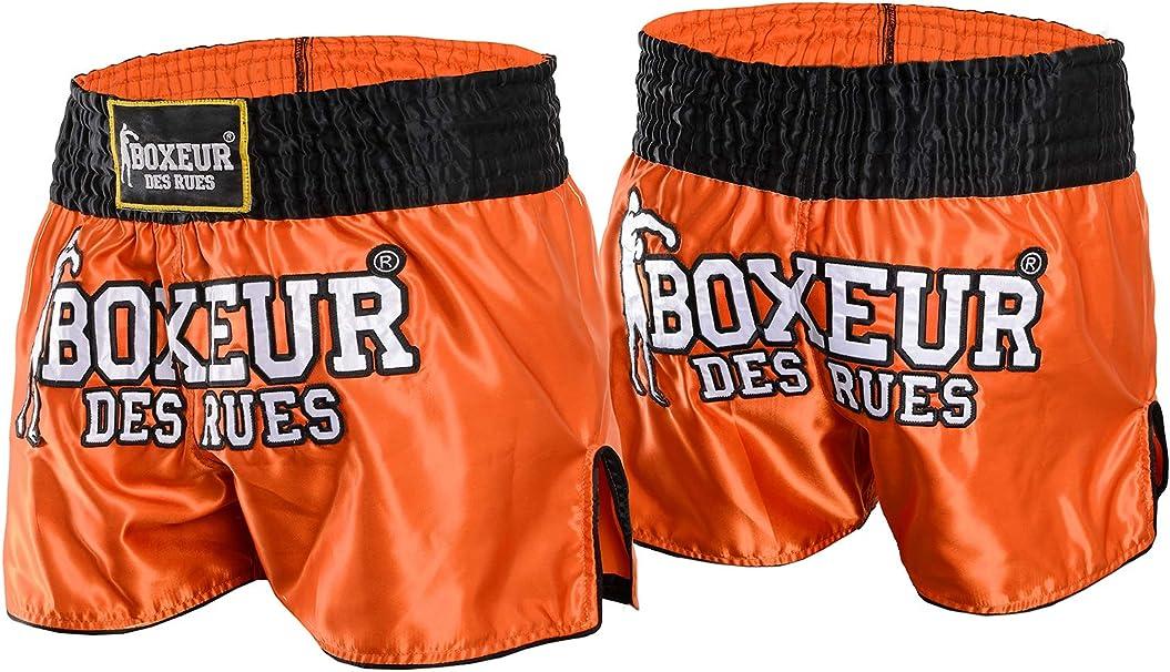 BOXEUR DES RUES Bxv-1142k Shorts de Kick//Thai Homme