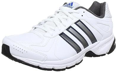 1b91aec1685f adidas Performance Men s Duramo 5 Lea Running Shoes  Amazon.co.uk ...