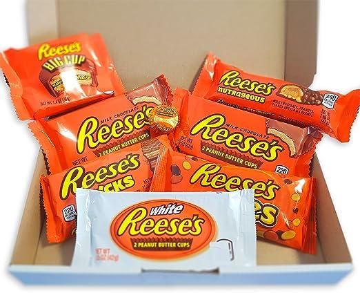 Reeses Schokolade Geschenkkorb   8 verschiedene US amerikanische ...