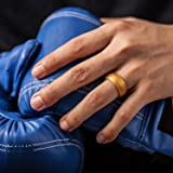 ThunderFit Silicone Ring Wedding Band for Men - 1