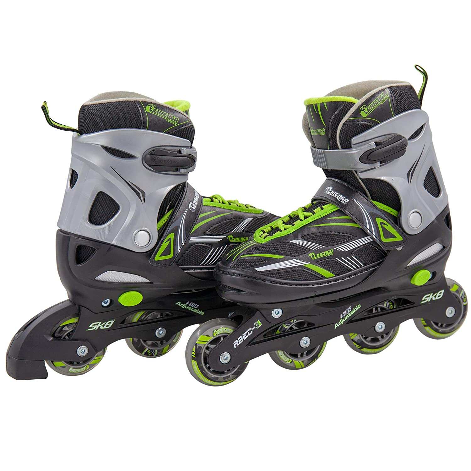Chicago Blazer Junior Boys Adjustable Inline Roller Skate