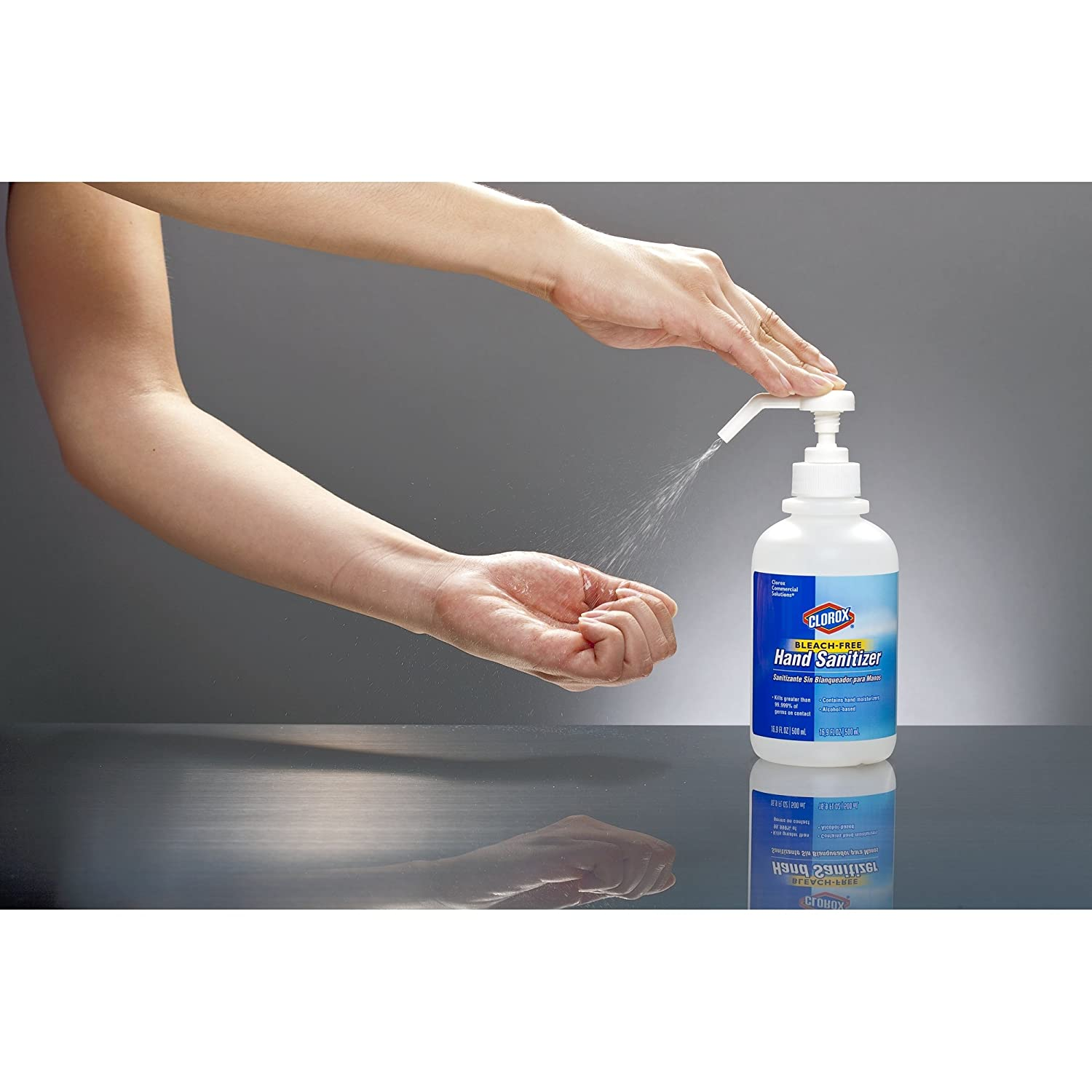 Amazon Clorox 02176 Commercial Solutions Hand Sanitizing Spray 500 Ml Bottle Home Kitchen