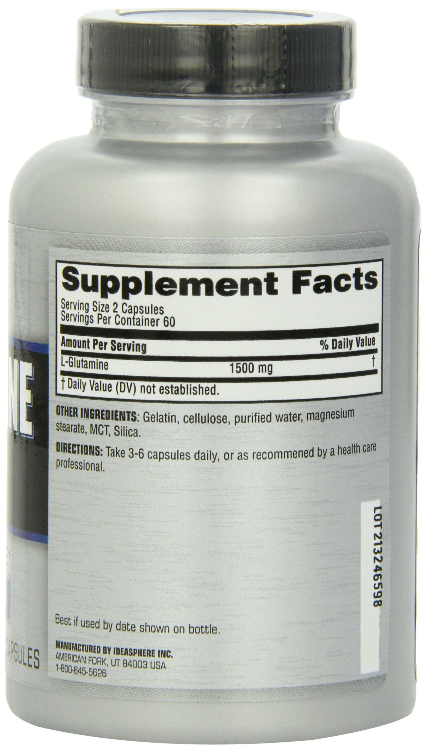 Twinlab Glutamine Fuel, 120 Capsules (Pack of 2) by Twinlab (Image #4)