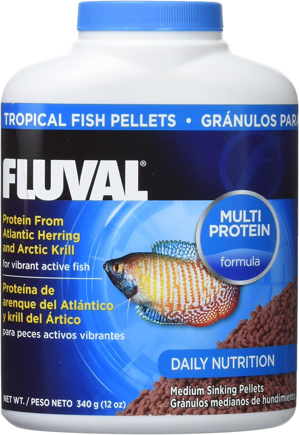 Fluval Hagen 90gm Tropical Pellets Fish Food