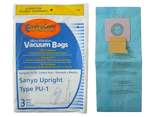 Amazon.com - 6 Sanyo Type PU-1 Microfiltration Upright ...