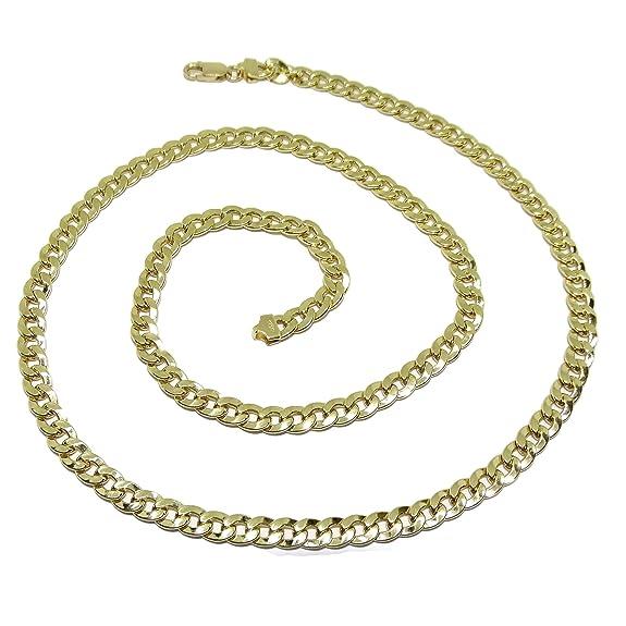Cadena para Hombre de Oro Amarillo de 18khttps://amzn.to/2KrkQqo