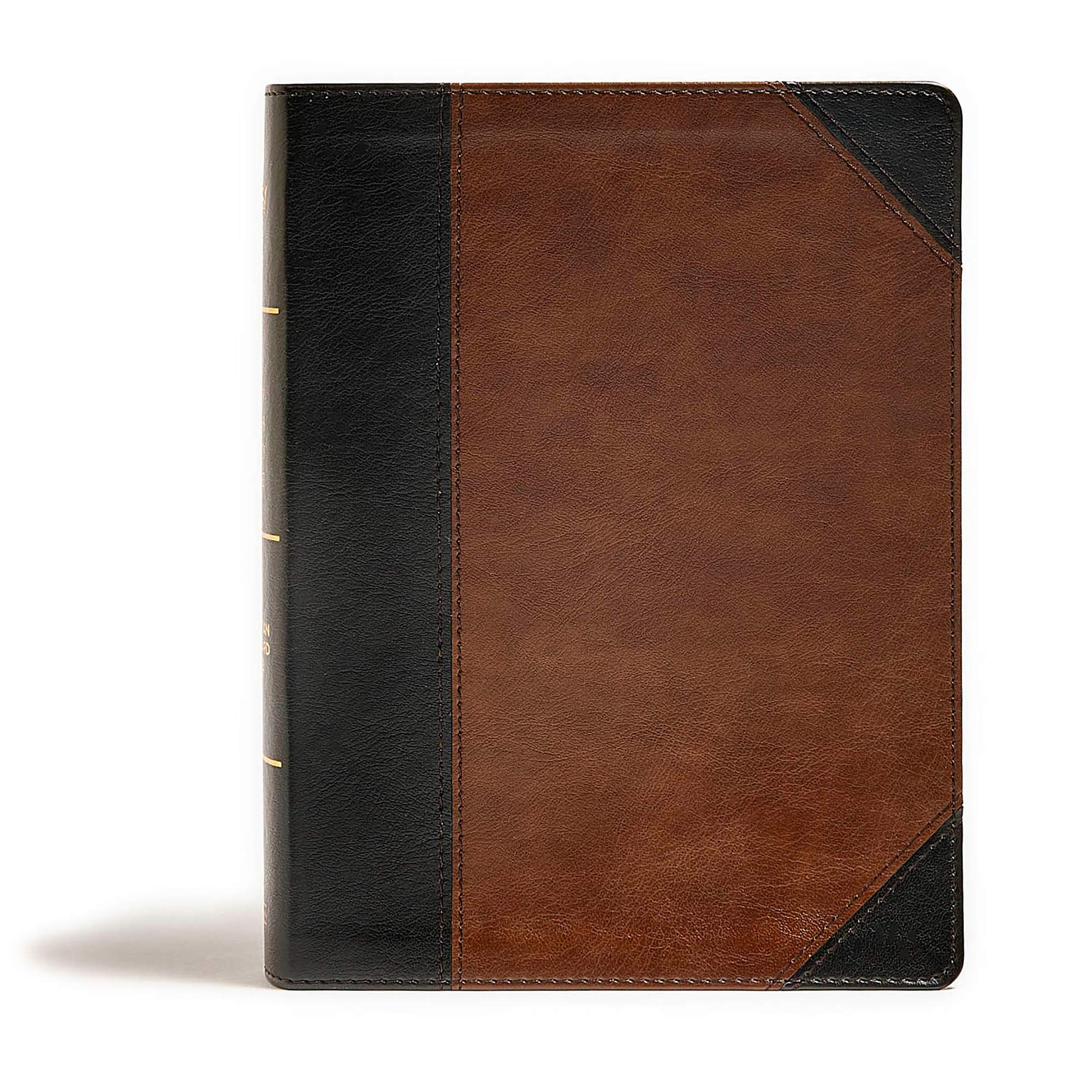 CSB Tony Evans Study Bible, Black/Brown LeatherTouch by B & H Publishing Group