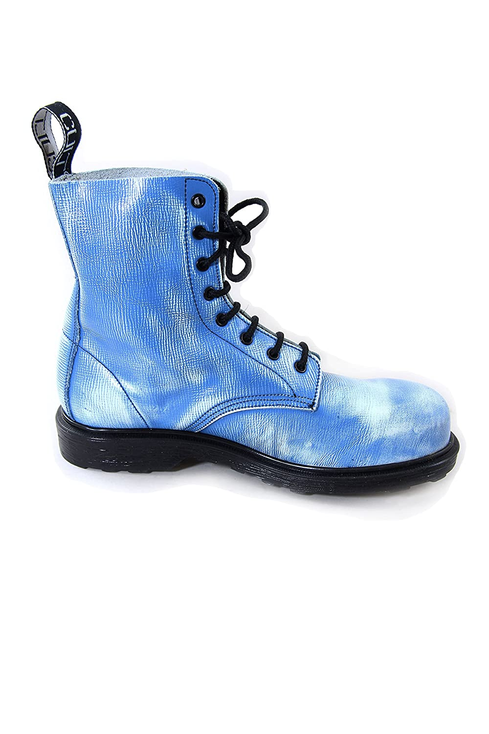 Cult Bolt Strike Vintage Leather Boots With Steel Toe Blue and White (38  EU, Blue): Amazon.co.uk: Shoes & Bags