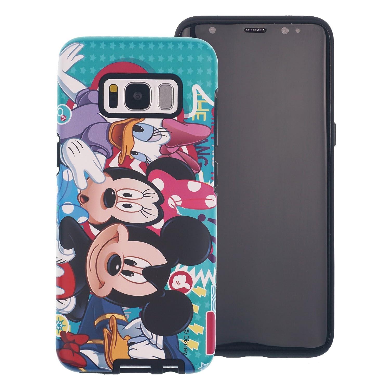 Funda Galaxy S8 Plus [Protección híbrida contra caídas] Disney Linda Doble Capa Hybrid Carcasas [TPU + PC] Parachoques Cubierta para [ Samsung Galaxy ...