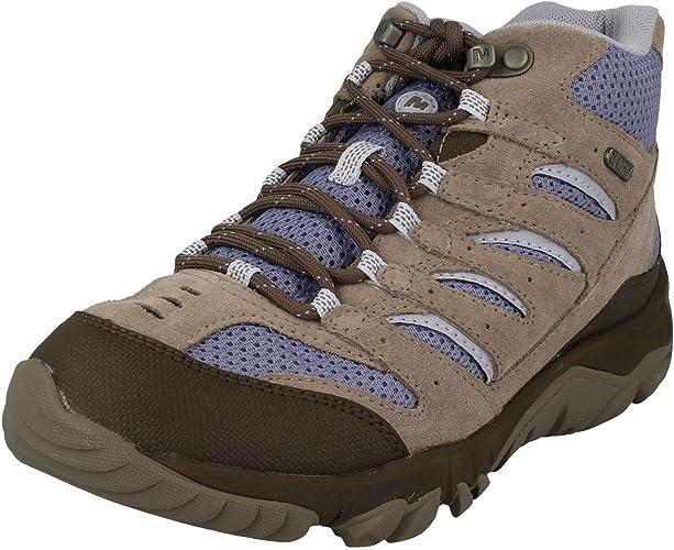 Merrell Ladies Walking Boots White Pine