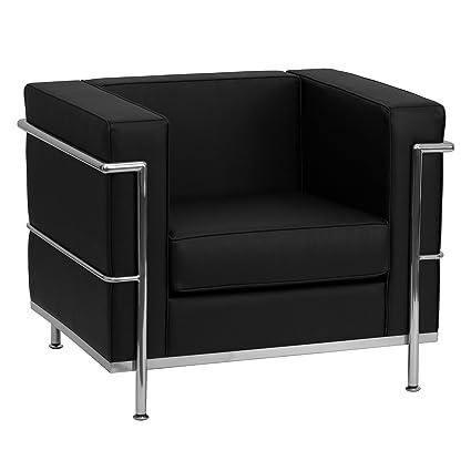 Amazon.com: Flash Furniture HERCULES Regal Series Contemporary Black ...