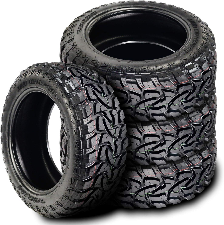 10 Ply Mazzini Mud Contender Mud Tire 33X12.50R18LT 118Q E