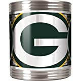 NFL Green Bay Packers Metallic Can Holder, Stainless Steel