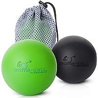Ultimate Bomb-Ball Duo massagebal set van reliëf, fascia + Lacrosse massage bal voor de ultieme spierontspanning…