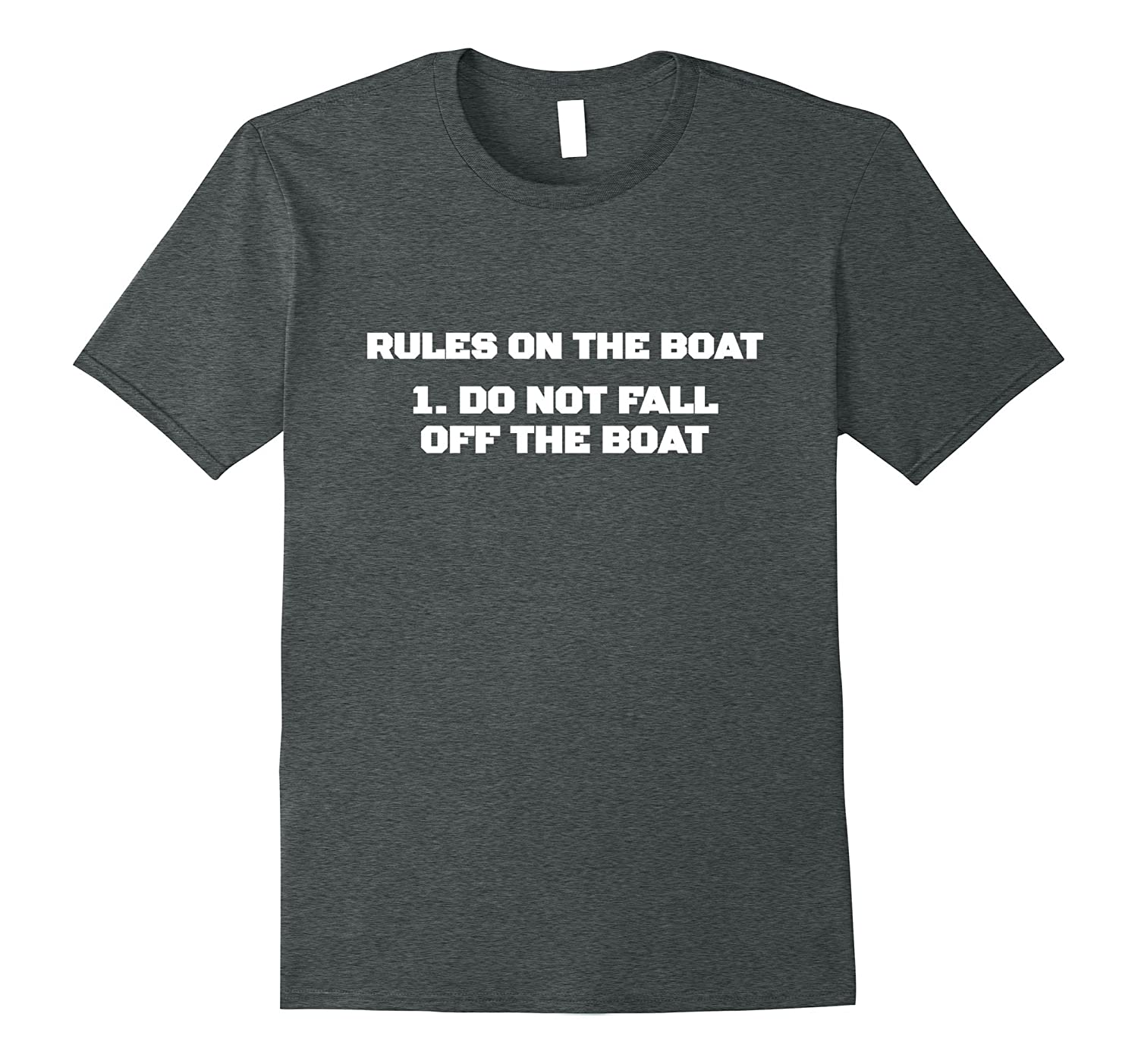Rules T shirt Yacht Cruise Black-Veotee
