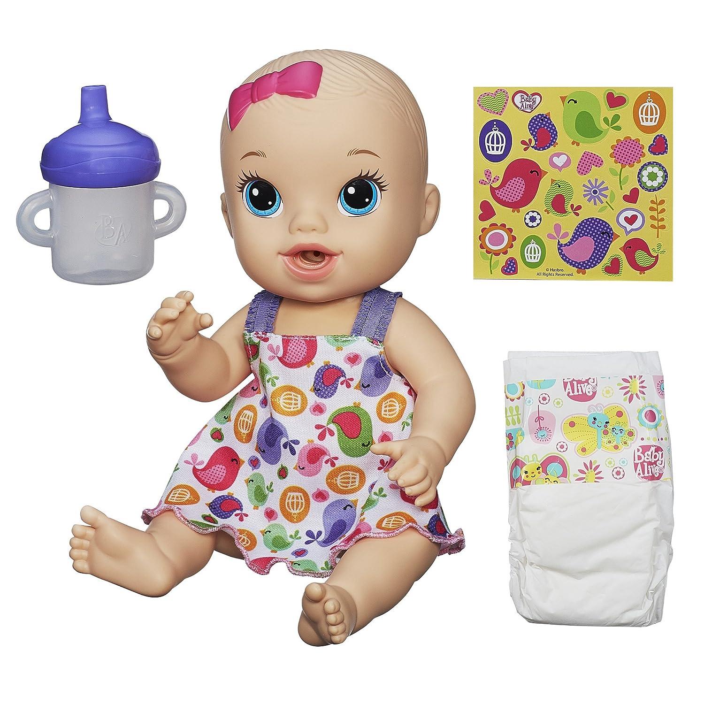 a la venta Baby Baby Baby Alive sorbos 'n Cuddles – Muñeca bebé Birdy Vestido (Rubio)