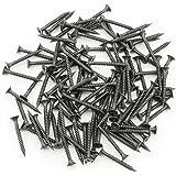 SCREXS® 1000x Schnellbauschrauben Feingewinde Ø 3,9 x 25 | 35 | 45 mm Trompetenkopf phosphatiert Trockenbau-Schraube, 35 mm 1000 Stück