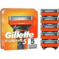 Gillette Fusion 5 Cuchillas de Afeitar Hombre, Paquete de 5 Cuchillas de Recambio