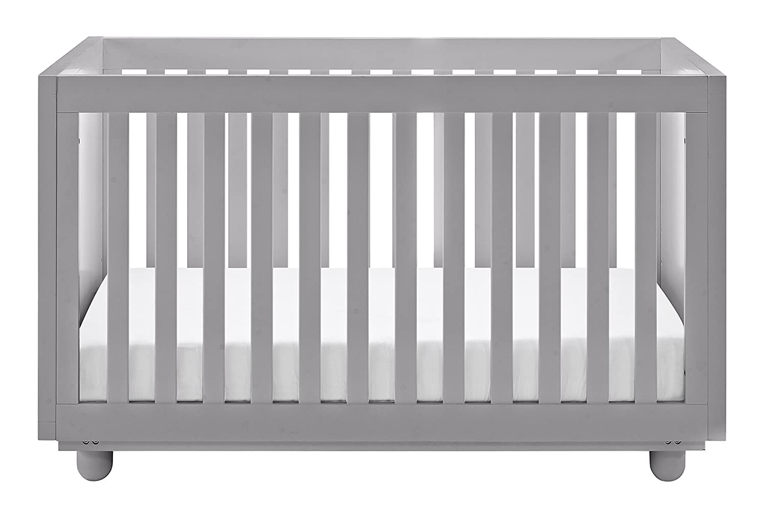 Storkcraft Violet 3-in-1 Convertible Crib, White, Easily Converts to Toddler Bed Day Bed or Full Bed, Three Position Adjustable Height Mattress, Some Assembly Required 04610-101