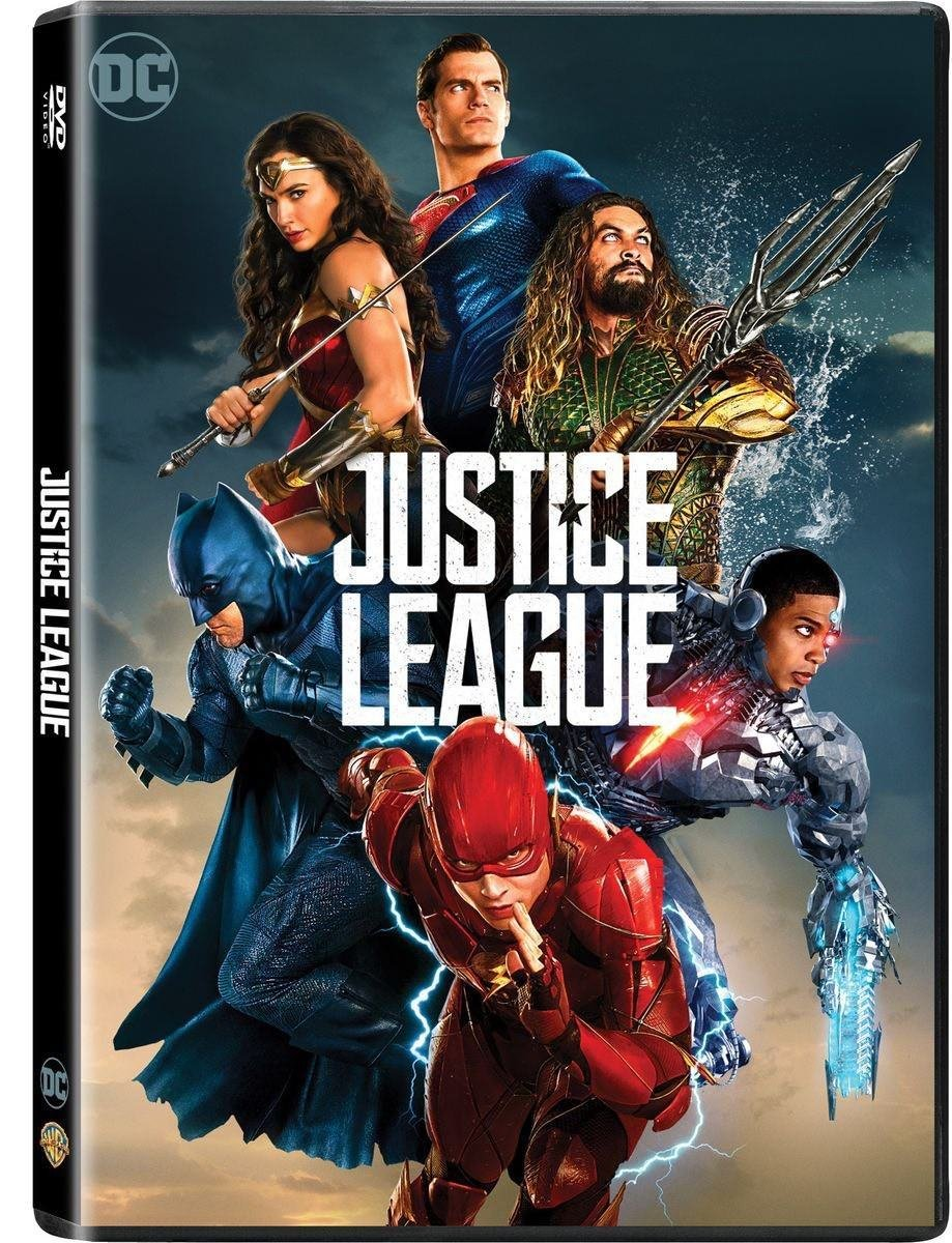 Amazon Com Justice League Dvd 2017 Action Adventure Lamarka Movies Tv