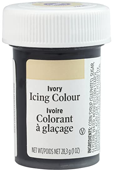Amazon.com : Wilton Paste Colour - Ivory : Food Coloring : Grocery ...