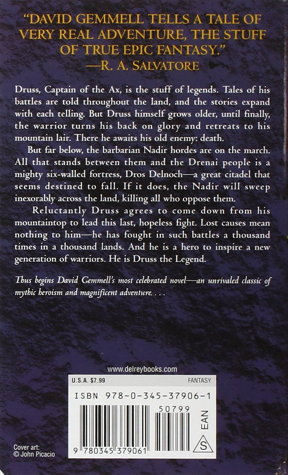 Legend (drenai Tales, Book 1): David Gemmell: 9780345379061: Amazon:  Books