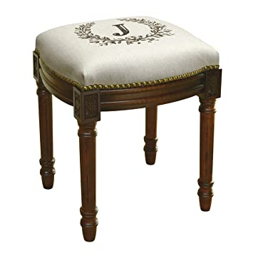 Marvelous Amazon Com 123 Creations Monogram Victorian Traditional Ocoug Best Dining Table And Chair Ideas Images Ocougorg