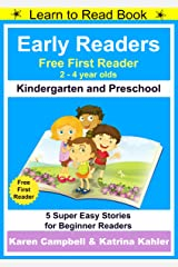 Early Readers - First Learn to Read Book - Kindergarten and Preschool: 5 Super Easy Stories for Beginner Readers Kindle Edition