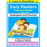 Early Readers - First Learn to Read Book - Kindergarten and Preschool: 5 Super Easy Stories for Beginner Readers
