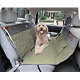 PetSafe Solvit Premium Pet Seat Cover- For Car, Truck, and SUV Use - Waterproof - Available in Hammock, Bucket and Bench Styles