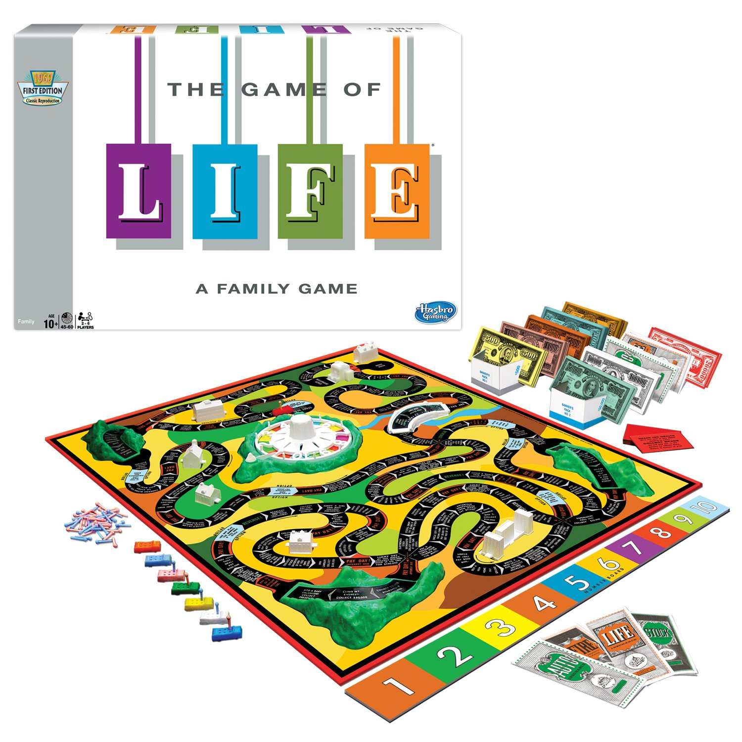 Amazon Winning Moves Games The Game Of Life Toys Games