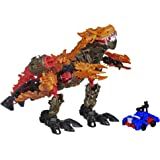 Transformers Age of Extinction Construct-Bots Dinofire Grimlock and Optimus Prime Set