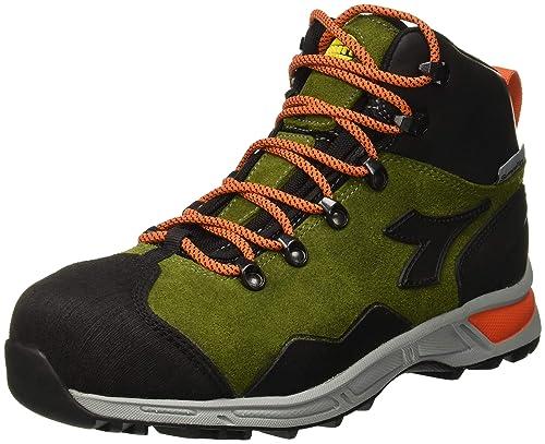 Utility Diadora - Calzado de Trabajo Alto D-Trail Leather HI S3 Sra HRO WR para Hombre: Amazon.es: Amazon.es