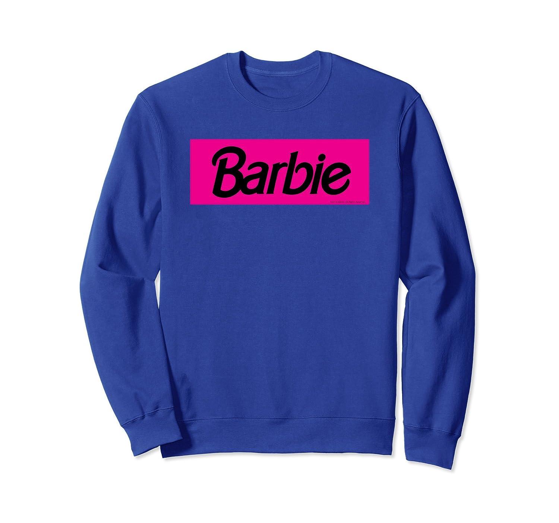 Barbie Logo Pullover Sweatshirt-fa