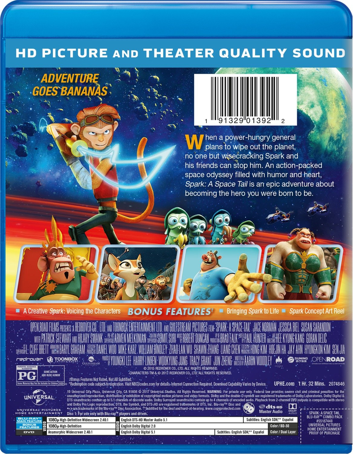 Amazon Com Spark A Space Tail Blu Ray Jace Norman Jessica